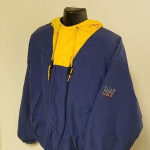 Vintage Colorblock Team Nautica USA Lined Jacket